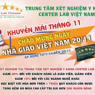 Chương trình khuyến mãi Tháng 11 mừng ngày nhà giáo Việt Nam